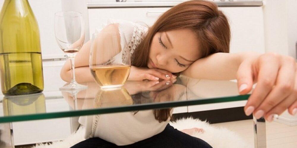 主婦のアルコール依存症
