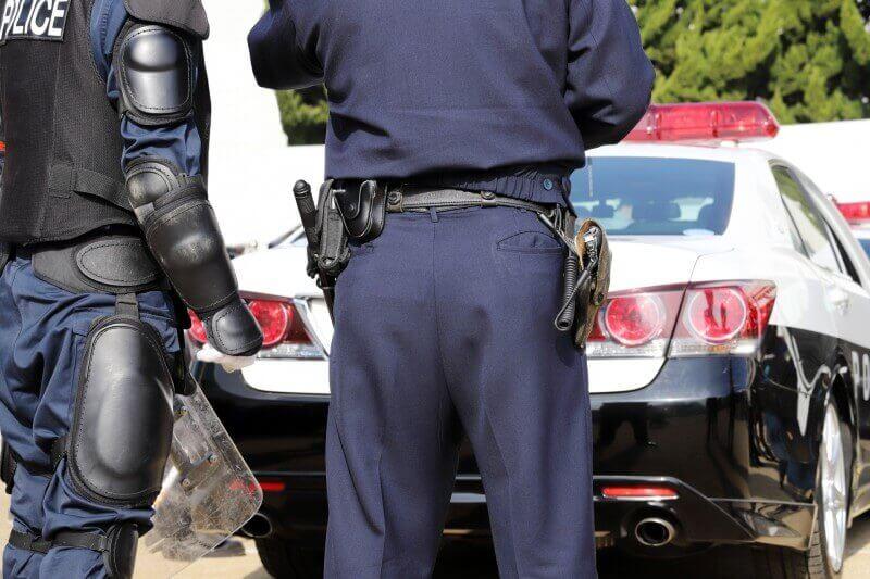 酒気帯び運転の事故で警察沙汰に