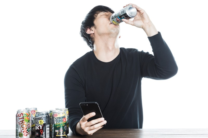 ストロングチューハイでアルコール依存症に