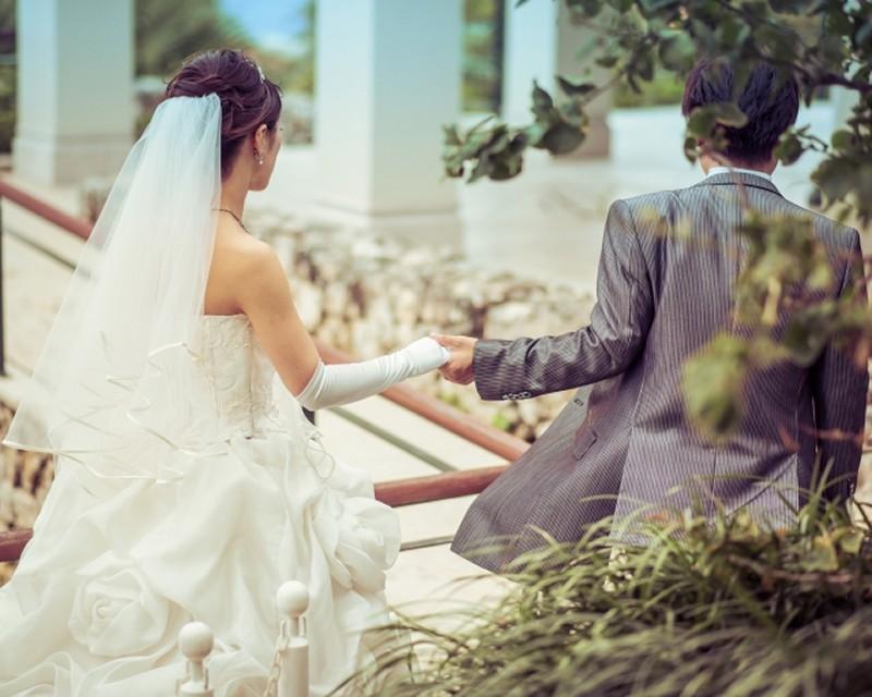 出会いから1回目の結婚式