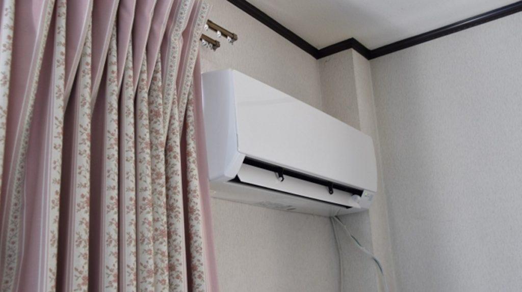 エアコンををタイマーを付けて寝る