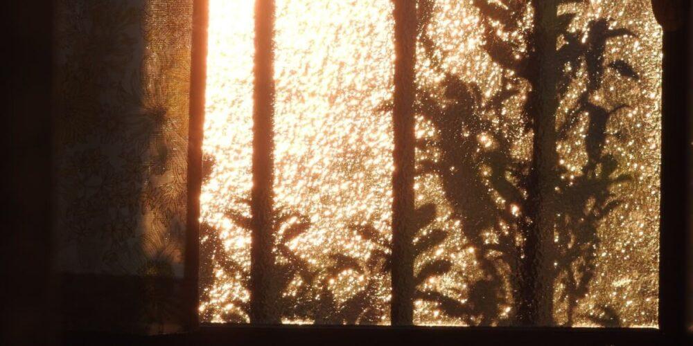 閉鎖病棟の個室の閉まらない窓