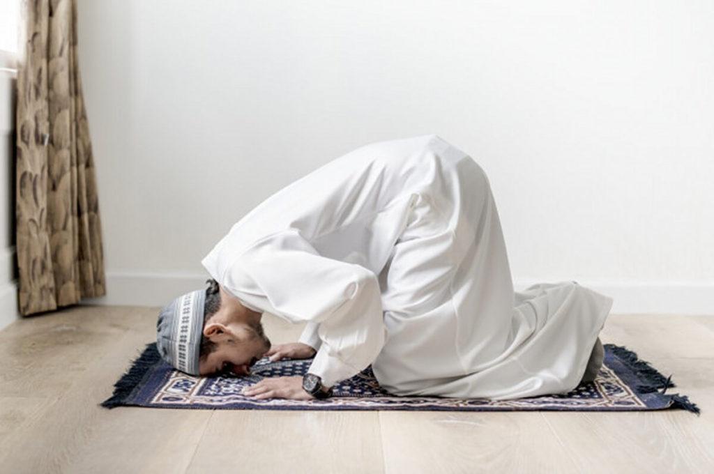 独り言がうるさい患者が祈る