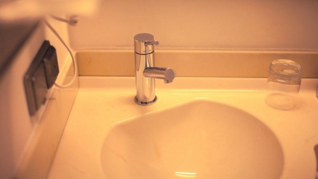 精神病院・閉鎖病棟の洗面所