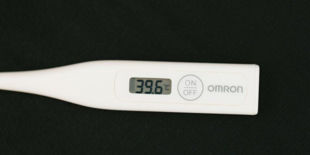 検温の体温計
