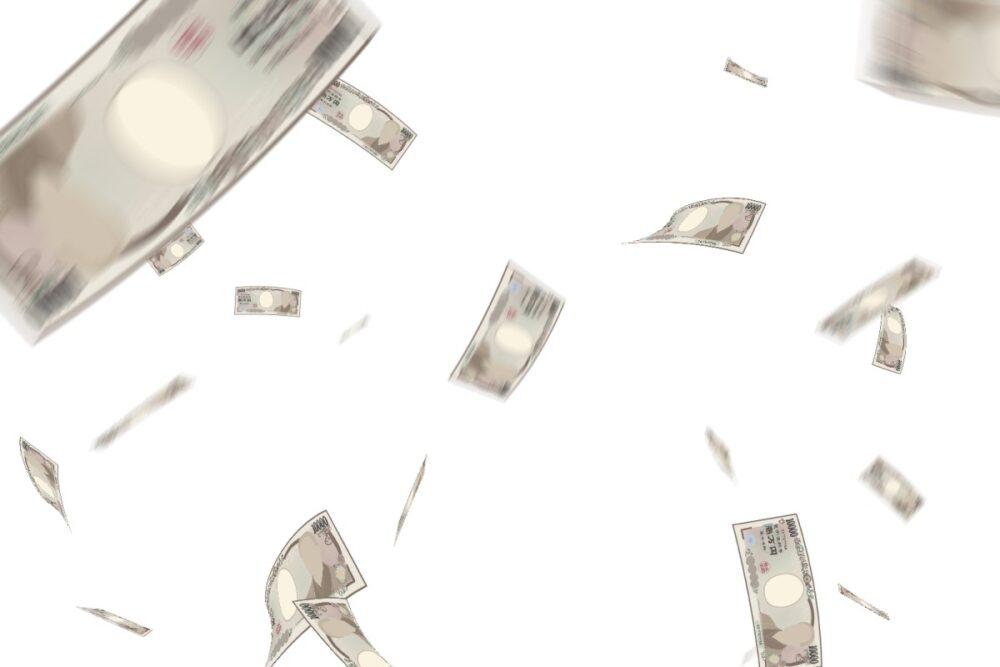 ギャンブルでお金を失う